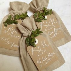 Simone LeBlanc | 'Let Love Bloom' Wildflower Seed Bridal Shower Gifts