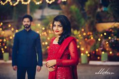 Betrothal Bride In Red Lehenga # SouthIndianBride Pretty Pics, Pretty Pictures, Christian Weddings, Kerala Wedding Photography, Cute Love Couple, Red Lehenga, Couple Shots, Bridal Shoot, Bridal Accessories