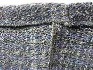 City Photo, Image, Waves, Stitching, Tunisian Crochet