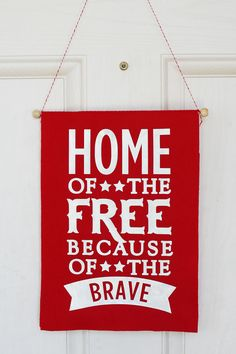 Fourth of July Door Banner