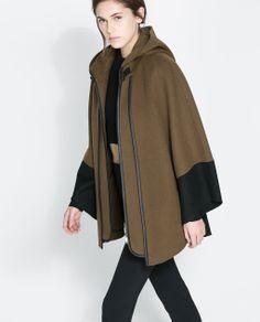 COMBINATION CAPE from Zara $189