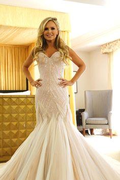 tamra judge wedding dress - Mark Zunino