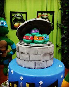 Festa tartaruga Ninja por Nick Provençal kesia...