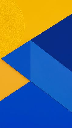 Get Wallpaper: http://bit.ly/1OpqHpr vl17-android-marshmallow-new-blue-yellow-pattern via http://iPhone6papers.com - Wallpapers for iPhone6 & plus