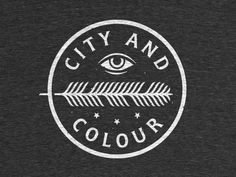 A merch design for City And Colour's upcoming tour.