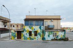 Art (2016) by TELLAS in Mazara del Vallo (Trapani), Sicily.  #Periferica #Streets #Tellas #TRANSUMAREProject #ViavaiProject #Walls #Andreco #sicily #mazaradelvallo #trapani #italy