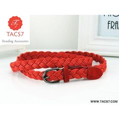 Apparel Accessories Intelligent 2017 Hot Sell New Womens Belt New Style Candy Colors Hemp Rope Braid Belt Female Belt For Dress Sufficient Supply