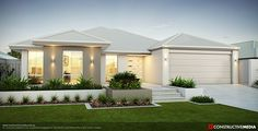 House front ideas australia dream homes 36 trendy ideas Modern House Plans, Modern House Design, Residential Architecture, Modern Architecture, Style At Home, Farmhouse Plans, Modern Farmhouse, Facade House, House Front