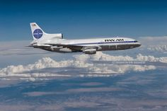 """Pan Am Lockheed L-1011-500 TriStar N503PA c/n 193Y1177 """"Clipper Flying Eagle"""" Photo by Erik Simonsen"""