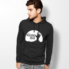 The Walking Dead Hoodie Casual Sportswear Print Men Hoodies Black Hip Hop Sweatshirts ding //Price: $22.56 & FREE Shipping //     #twdfamily