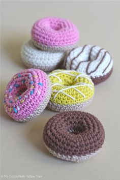 I just may have to learn how to crochet just so I can have random soft donuts around me at all times.