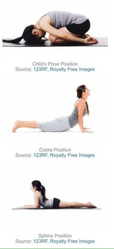 Stretches to reduce menstrual cramps
