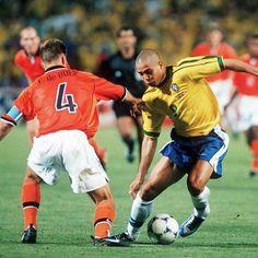 Ronaldo and frank de boer legends soccer word cup 1998