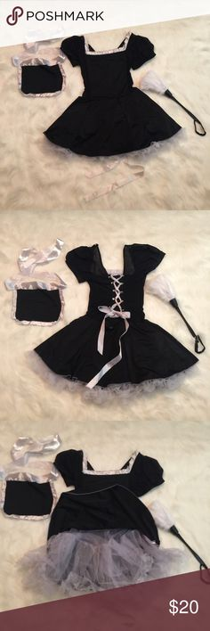 French Maid Costume & accessories French maid dress, apron and Duster Intimates & Sleepwear