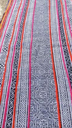 Handwoven Batik Cotton  Hmong  Vintage textiles and door dellshop, $24.99