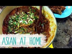 One Pot Recipe : One Pot Korean Spicy Ribs with Rice Recipe : Korean Food : Asian at Home