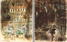 ECC Cartoonbooks Club: Ronald Searle the Great (Part 4) - Abroad
