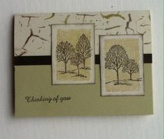 Lovely as a Tree thinking of you card by janemom