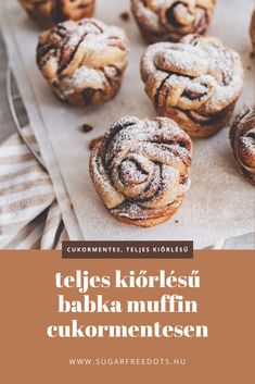 Sweet Life, Healthy Desserts, Sugar Free, Healthy Life, Muffin, Paleo, Cooking Recipes, Sweets, Diet