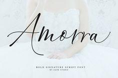 Amorra Script (Font) by Zane Studio · Creative Fabrica Handwritten Fonts, Script Fonts, Typography Fonts, All Fonts, Hand Lettering, Thin Fonts, Classic Fonts, Modern Fonts, Premium Fonts