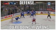 Defense - you're doing it wrong.