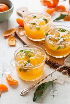 WINTER LEMONADE: Mandarin Mint - The Kitchen McCabe