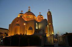 интерьер - Picture of Coptic Orthodox Church, Sharm El Sheikh - Tripadvisor Sacred Architecture, Church Architecture, Sharm El Sheikh, Sunset Pictures, Night Lights, Building Materials, Castles, Photo S, Worship
