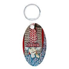 9-11 WAS FIXED RED Keychains