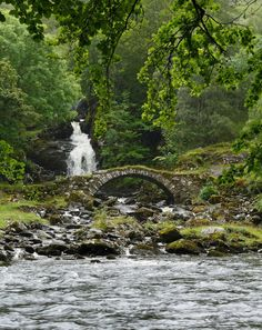 Roman bridge, Glen Lyon, Scotland