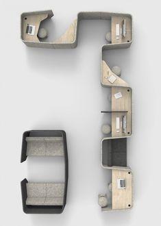 BUZZIVILLE | Alain Gilles #furniturearrangement