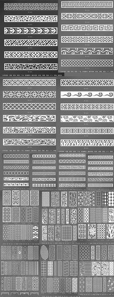 MDF lattice/flower window Shoe cabinet TV wall clothing store modern pierced engraved partition style porch screen - laser cut - Ideas For Women's Motifs Islamiques, Corte Plasma, Jaali Design, Partition Screen, Tv Wand, Flower Window, Chinese Patterns, Porche, Modelos 3d