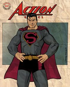 Not sure who the artist is, but I like this version of Superman
