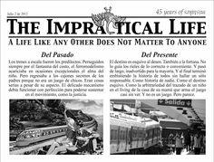 De trenes y accidentes.