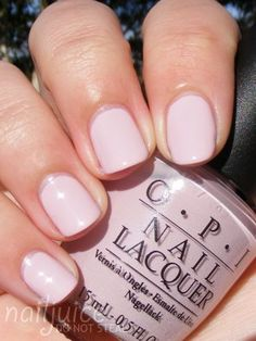 I love Gotta Get Pink, this is my kind of nude. OPI