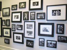 Fotos estão em formato padrão, todas em preto e branco, para seguir uma mesma linguagem e dar um tom sofisticado a mon...