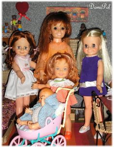 IDEAL Dolls_Crissy Familly
