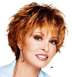 flirty hairstyles for women over 50 | 46. Short Hairstyle for Women Over 50 : Raquel Welch Flipped Pixie