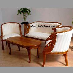 desain sofa ruang tamu model lengkung merupakan produk indo kursi mebel jepara dengan desain kursi sofa