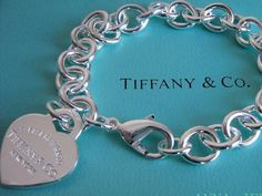 tiffany charm bracelet.  every girl should have one! I LOVE mine and have added two charms to it so far.