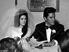 Le mariage de Elvis Presley et Priscilla Beaulieu