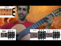 tocar en guitarra una razón de Abel Pintos