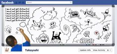 Cartoonist's Facebook Profile Cover