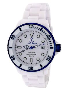 Women's White & Blue Watch by ToyWatch at Gilt