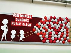 Teachers Day Decoration, Preschool Bulletin Boards, Guest Book Tree, Happy Teachers Day, Photo Booth Frame, Stage Decorations, Elegant Flowers, Teachers' Day, Mothers Day Crafts