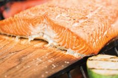 Check out this delicious recipe for Cedar-Planked Salmon Fillets from Weber—the world's number one authority in grilling. Cedar Plank Salmon, Cedar Planks, Barbecue, Bbq Grill, Grilling, Most Delicious Recipe, Salmon Fillets, Cooking Salmon, Seafood Recipes