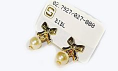 "Beautiful!!   Wear these everyday!!  Fashioned by SKILLUS in 18k *Layered Gold.  *This is ""Real Gold"" , but not ""Solid Gold""."