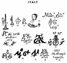 Majolica Marks   Pottery & Porcelain Marks - Italy - Pg. 8 of 17