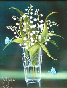 Ytje de Jong. Lily of the valley