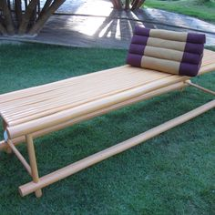 Furniture Long Bamboo Chair