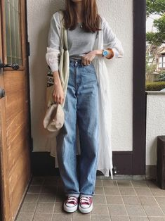 Modest Fashion, 90s Fashion, Fashion Looks, Fashion Outfits, Fashion Skirts, Grunge Fashion, Retro Fashion, Cute Casual Outfits, Retro Outfits